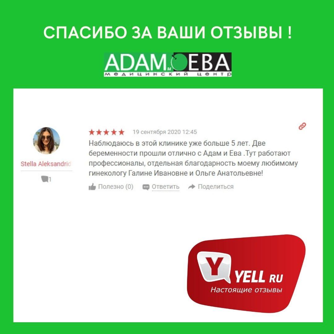 Отзыв с Yell.ru от 19 сентября 2020